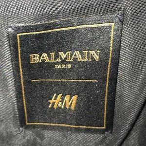 Balmain Jackets & Coats - AUTH Balmain x HM Velvet Blazer